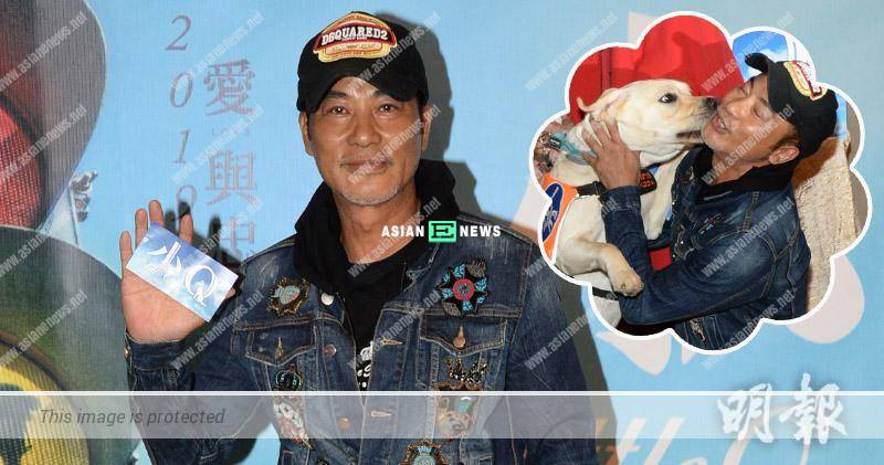 """Simon Yam's wife, Qi Qi is not jealous when there is a """"third party""""?"""