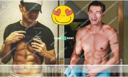 Netizens go crazy when Philip Ng and Stefan Wong show their muscular bodies