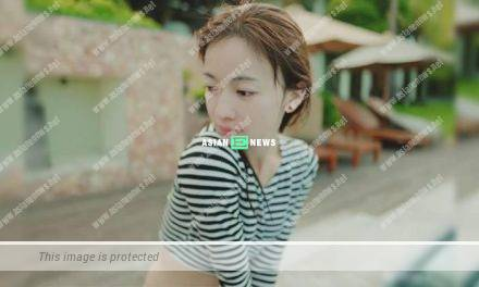 Wu Jinyan ignores the criticisms and enjoys the sun without make-up