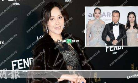 Donnie Yen and his family feel disrespectful; Carina Lau is treated fairly