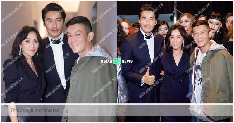 Carina Lau invited Edison Chen to her fashion show in Shanghai