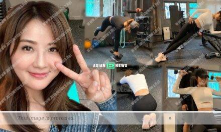 Charlene Choi undergoes rigorous training: The pain is worth it