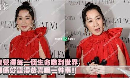 Hoping to have a baby? Charmaine Sheh said let nature take its course