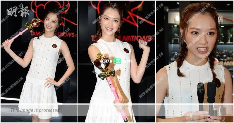 Crystal Fung feels normal when shooting a gun shoot scene
