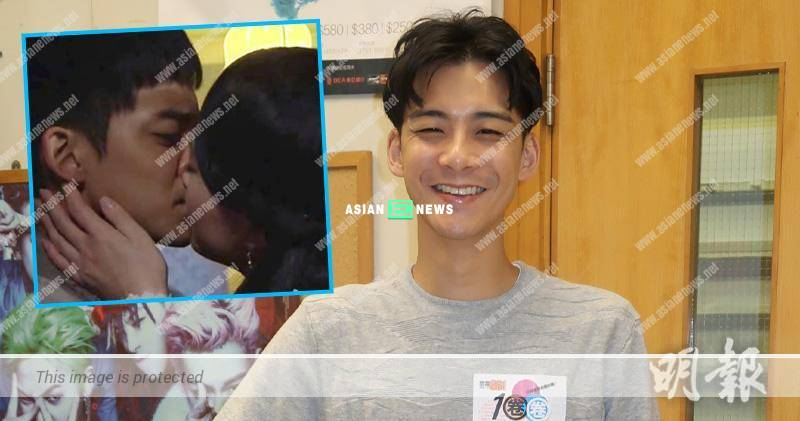 Dickson Yu had NG 8 times when filming kissing scene with Jeannie Chan