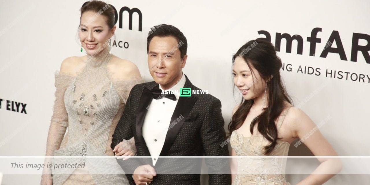 Donnie Yen finally responded when his family were treated rudely