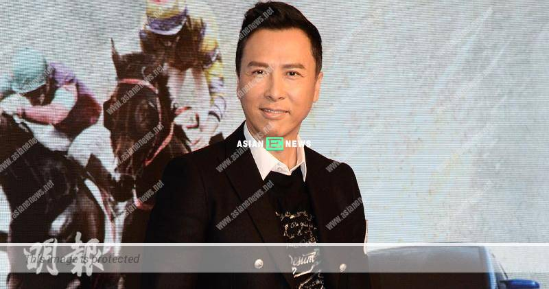 Donnie Yen has problem to restrict his diet; He has a cheeseburger for dinner
