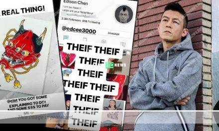 "Edison Chen is called a ""thief"" as CLOT plagiarised the design from original creators"