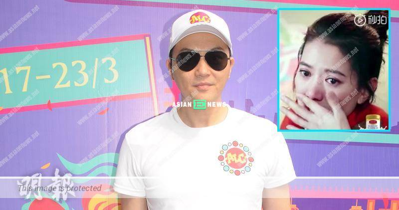 Anita Yuen receives the payment when Julian Cheung films reality show