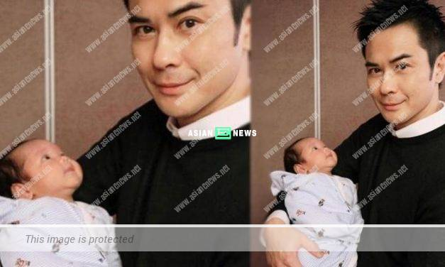 Kevin Cheng's son turns one month old: My eyes are always on you