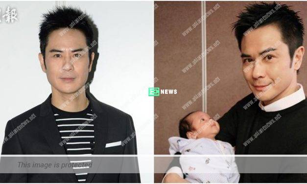 "Kevin Cheng misses his son, Rafael and he treats him to ""tea"""