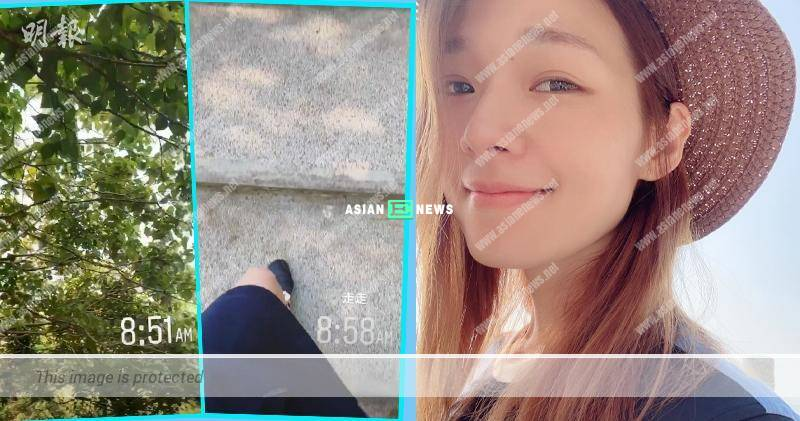 Koni Lui continues her usual life and goes for hiking