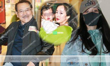 Yang Mi left Hong Kong quickly; Lau Dan avoids talking about her
