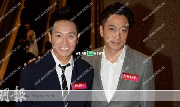 Roger Kwok and Ron Ng work together with a film director from Hollywood