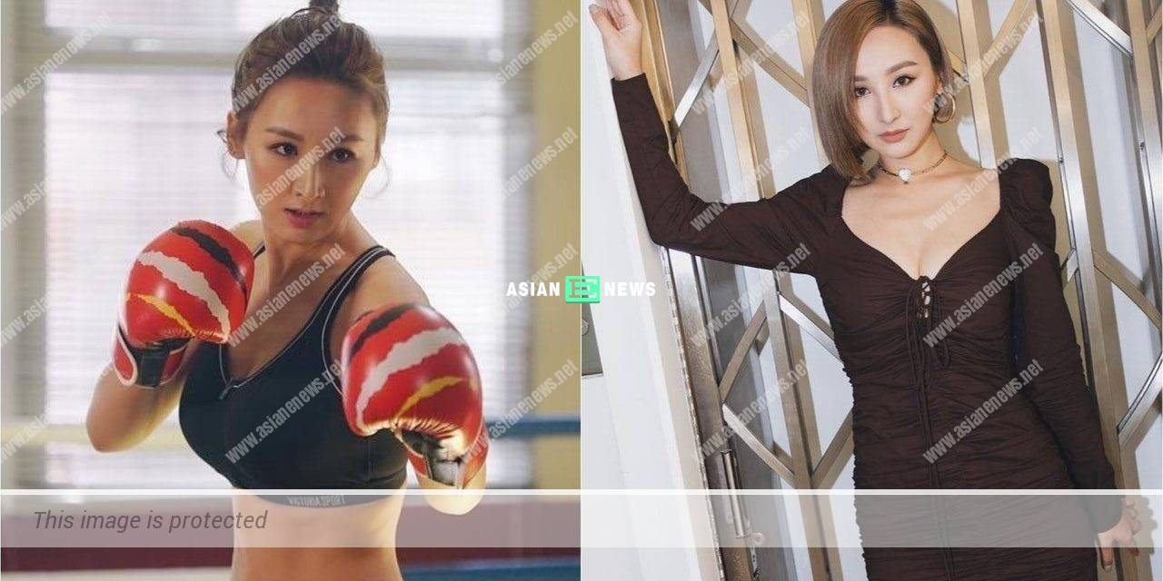 Samantha Ko has a tiny waist after boxing: Determination is the key to success