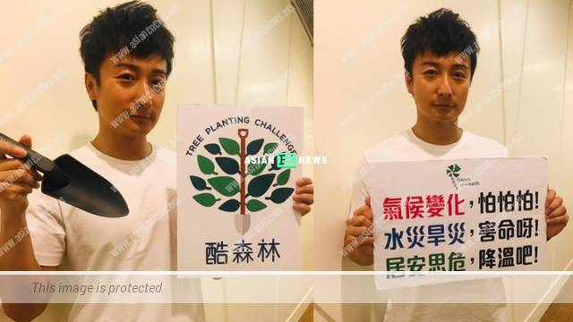 Alex Fong feels heart pain when the trees are destroyed