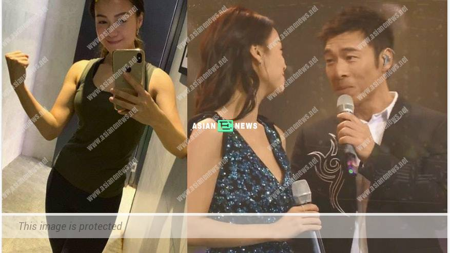 Jacqueline Wong used Andy Hui and her photo as the wallpaper in her mobile phone