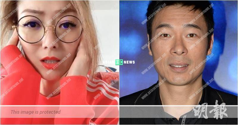 Andy Hui and Jacqueline Wong are caught kissing passionately