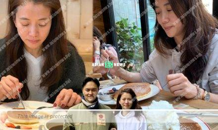 Julian Cheung accompanies Anita Yuen to eat pancakes every week