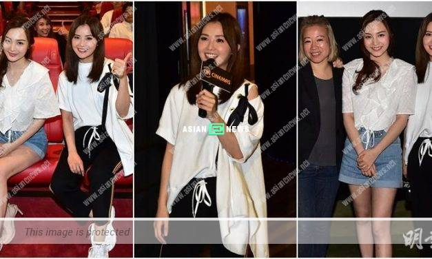 """Double Happiness Day""? Charlene Choi becomes a boss and promotes her new film"
