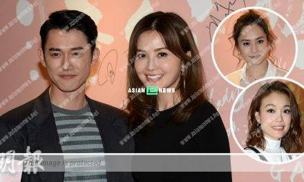 Charlene Choi's new film is released; Where is her boyfriend, Anthony?
