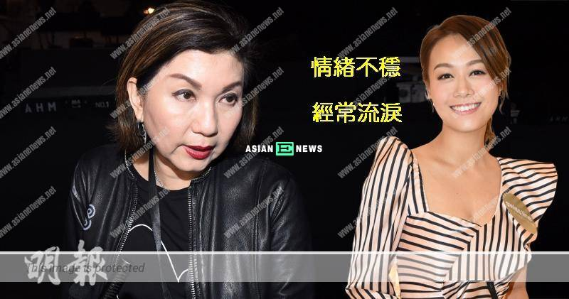Ms Virginia Lok reveals Jacqueline Wong keeps crying with an unstable condition