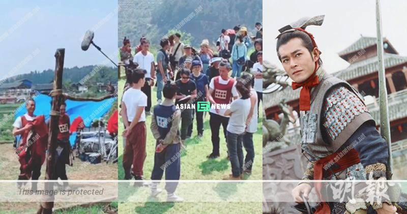 A Step into the Past film: Louis Koo's role image is revealed