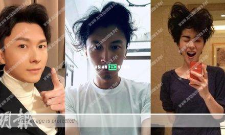 Netizens mistake Nicholas Tse as Vincent Wong?
