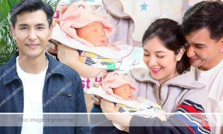 Ruco Chan finds it difficult to take care of his newborn daughter