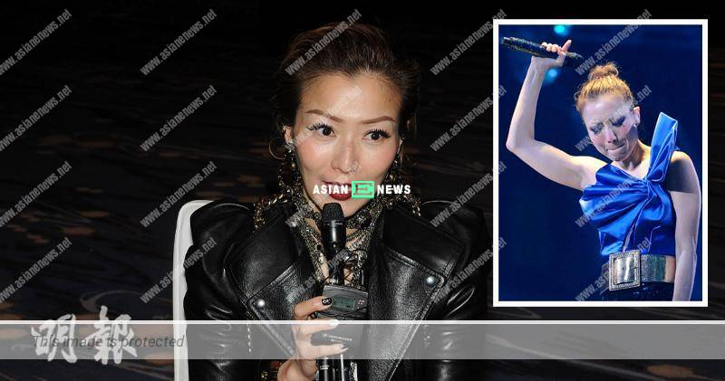 Sammi Cheng holds her concert in Hong Kong Coliseum in 2019