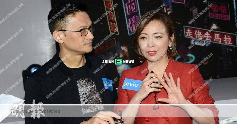 Sheren Tang's new drama is airing; Sunny Chan wished to have 3 wives