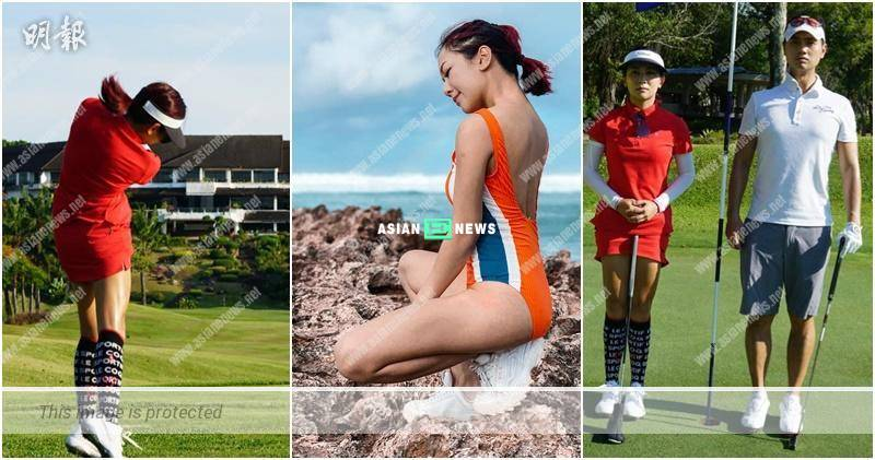 Stephanie Ho's joints are deformed before the golf competition