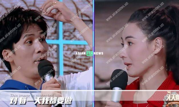 Is Cecilia Cheung a liar? She failed to give a definite answer in a variety show
