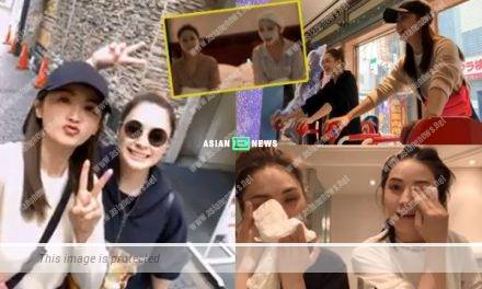 Charlene Choi and Gillian Chung are holidaying in Japan: Thank you for the supports