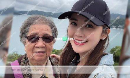 Filial Charlene Choi takes her grandmother for holidays to Taiwan