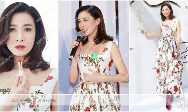Congratulations to Charmaine Sheh releasing her own lipstick brand