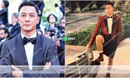 Daniel Wu shared an old photo of himself at 18 years old
