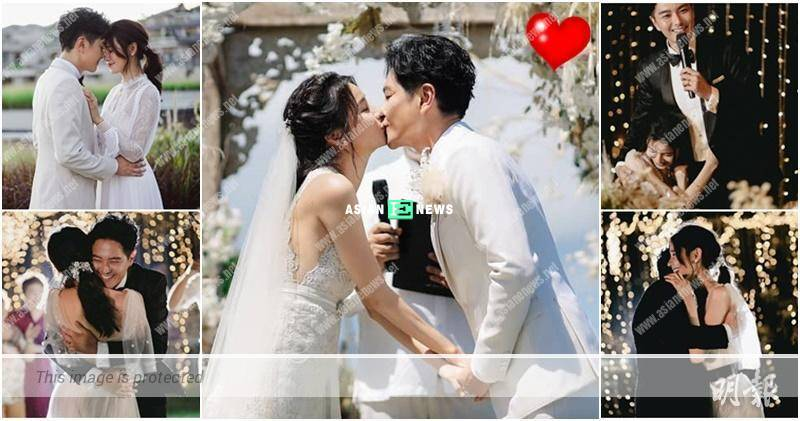 Edwin Siu and Priscilla Wong held a wedding in Bali; He loves his wife until next lifetime