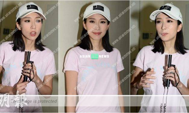 Elaine Yiu denies about shooting erotic video clip: My supporters should understand me