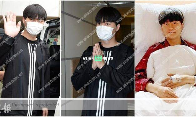 Hubert Wu is unconscious after an accident? He cannot really remember
