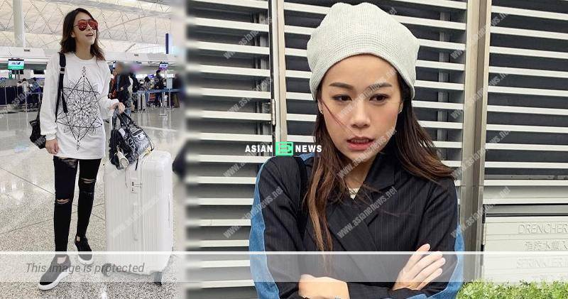 Jacqueline Wong is rumoured to be expecting and taking a proper rest in Los Angeles?