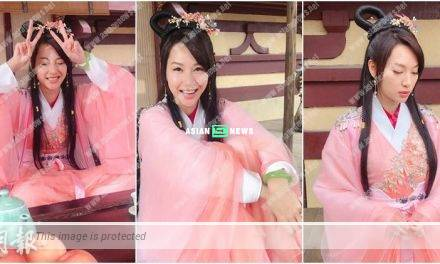 Kate Tsui's ancient role image received mixed reactions from the netizens