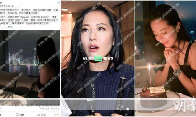 Natalie Tong dismissed the rumours about hotel room and did not know the online writer