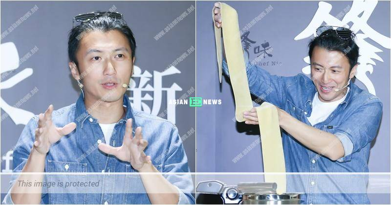 Nicholas Tse uses his culinary skills to improve the bonding with his family