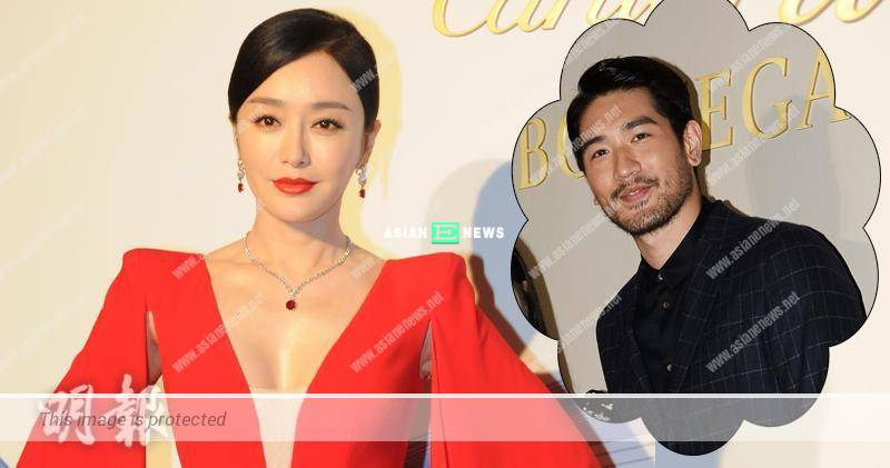 Qin Lan and Godfrey Gao are working together? She is not afraid of rumours