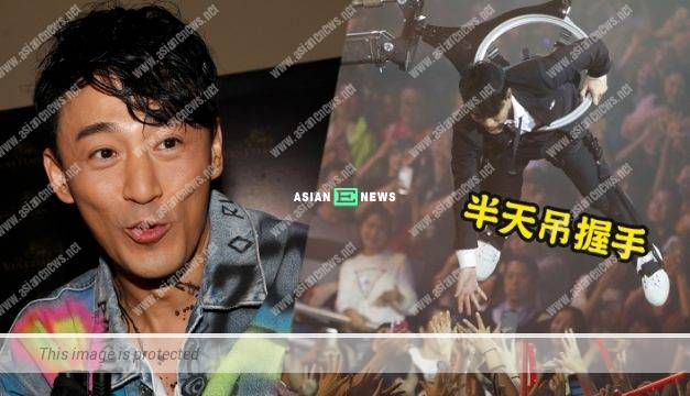 The audiences urge Raymond Lam to remove his top? He said it is a concert