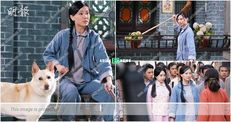 Rebecca Zhu shows her domineering side when chasing after a thief in the drama