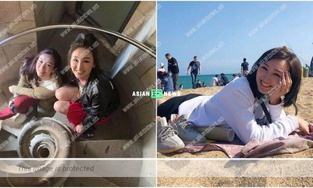 Samantha Ko did something crazy at the beach in Barcelona?