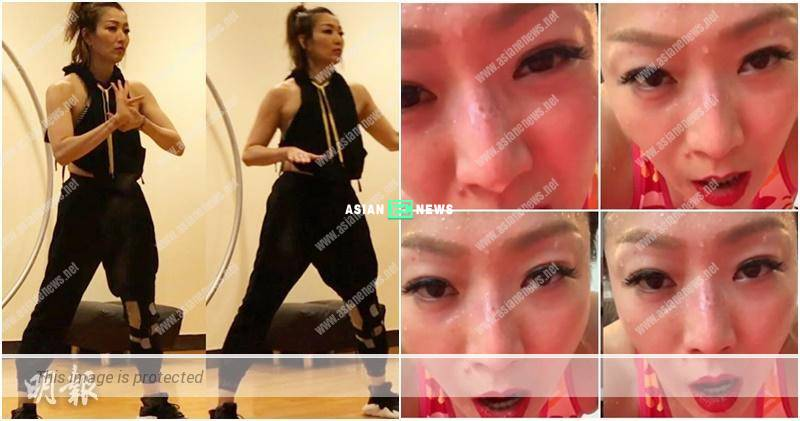 Sammi Cheng is becoming young again? She has a pimple