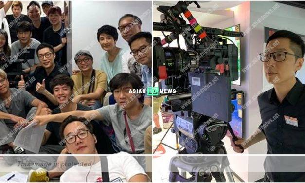 Film Producer, Steven Ma begins the shooting for his new movie